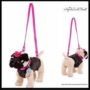 Other - GIRL'S PUG PUPPY PURSE MINI CROSSBODY BAG